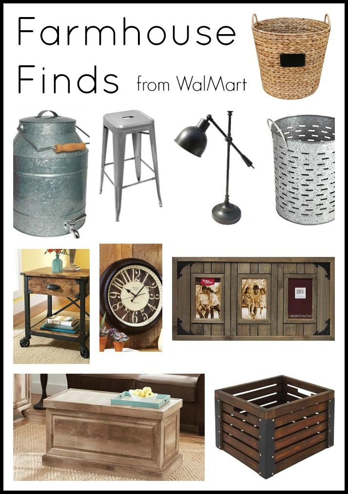 Farmhouse Finds from Walmart Walmart, Collection and