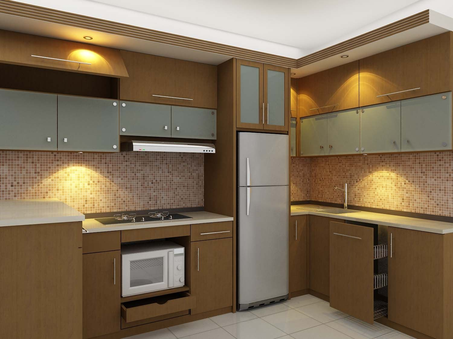 desain kitchen set minimalis Rumah Pinterest Kitchen