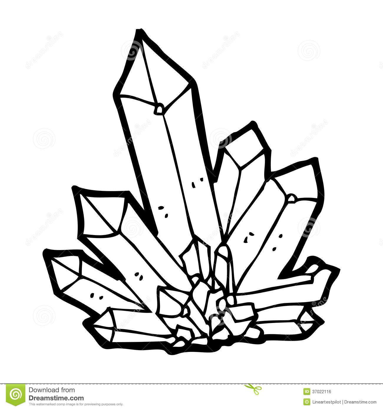 Pix For Gt Quartz Crystal Drawing
