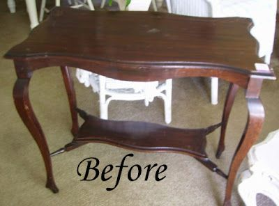 My Romantic Home Painting Furniture Step By