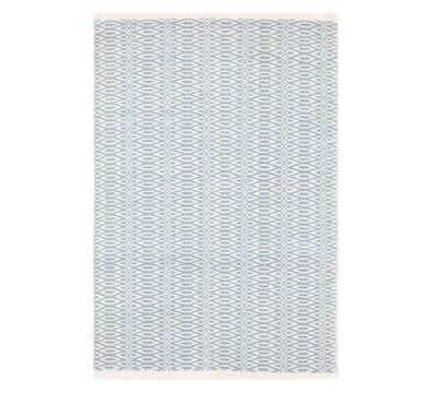 fair isle teppich - schwedisch blau - 122x183cm | teppiche