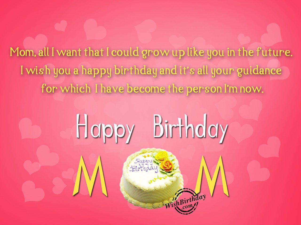 Birthday Wishes For Mother Birthday Images, Pictures