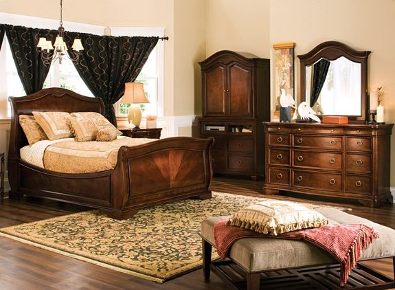 heritage court 4-pc. king bedroom set | bedroom sets | raymour and