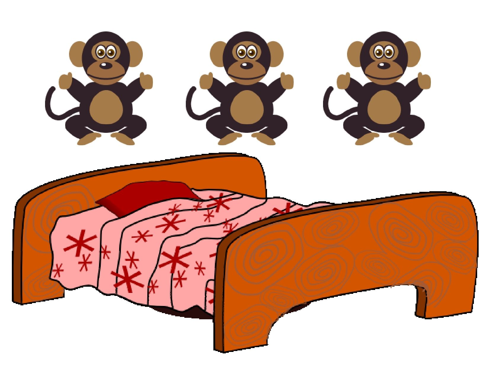 Five Little Monkeys Jumping On A Bed Is A Favorite Fingerplay For Preschoolers To Begin Learning