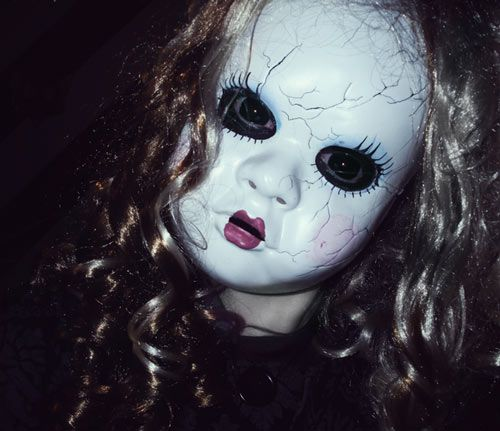 Image result for scary halloween doll