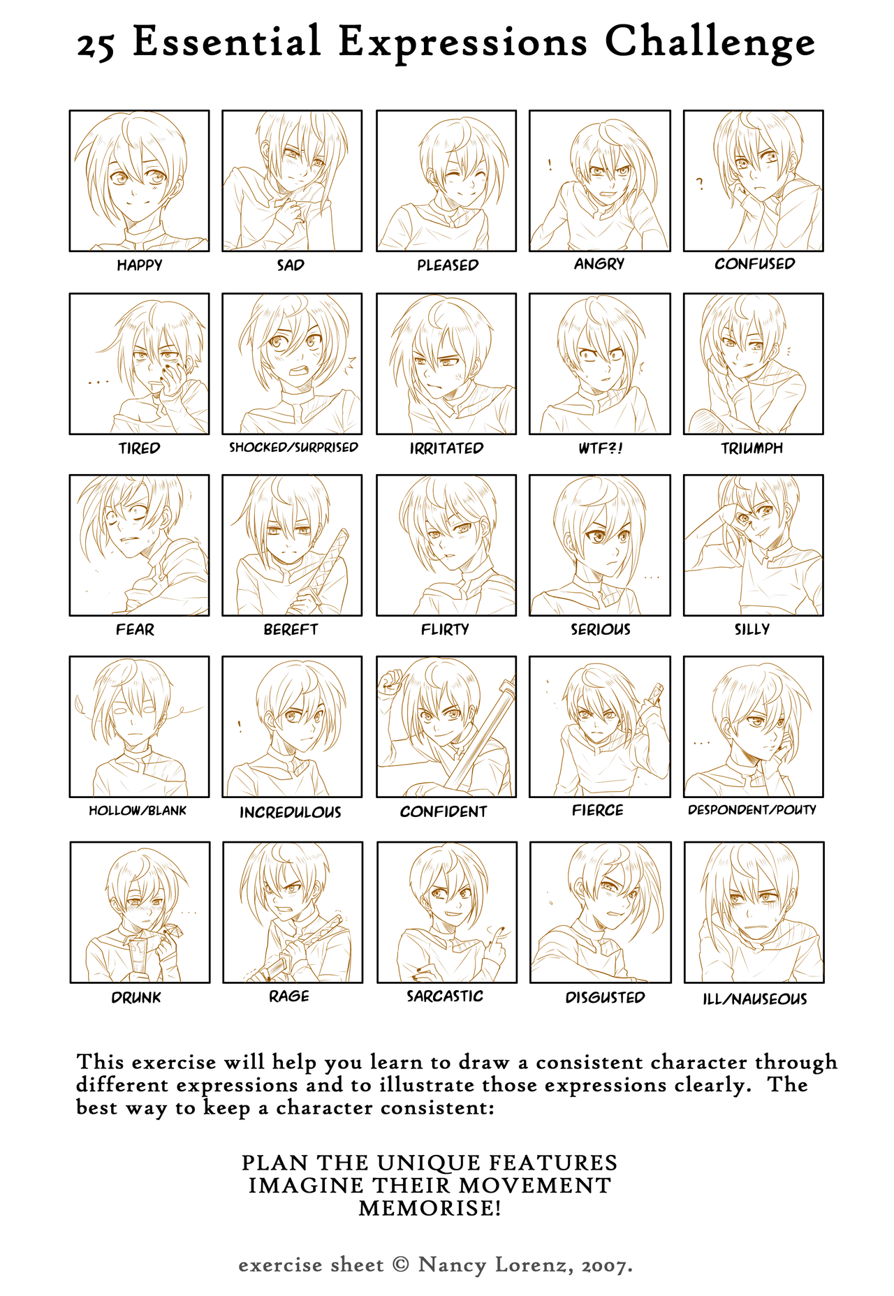 25 Essential Expressions Meme By Go Devil Daisukeviantart On Deviantart