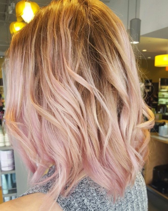 Pictures of blonde hair with pink highlights the best blonde 40 pink hairstyles as the inspiration to try hair pmusecretfo Choice Image
