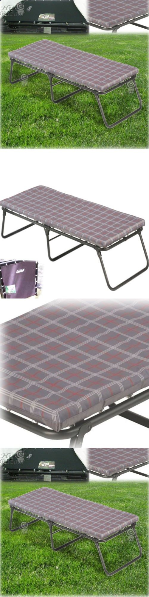 Camping Sleeping Pad Cots 87099 Cot Folding Bed Portable Outdoor Foam Mattress