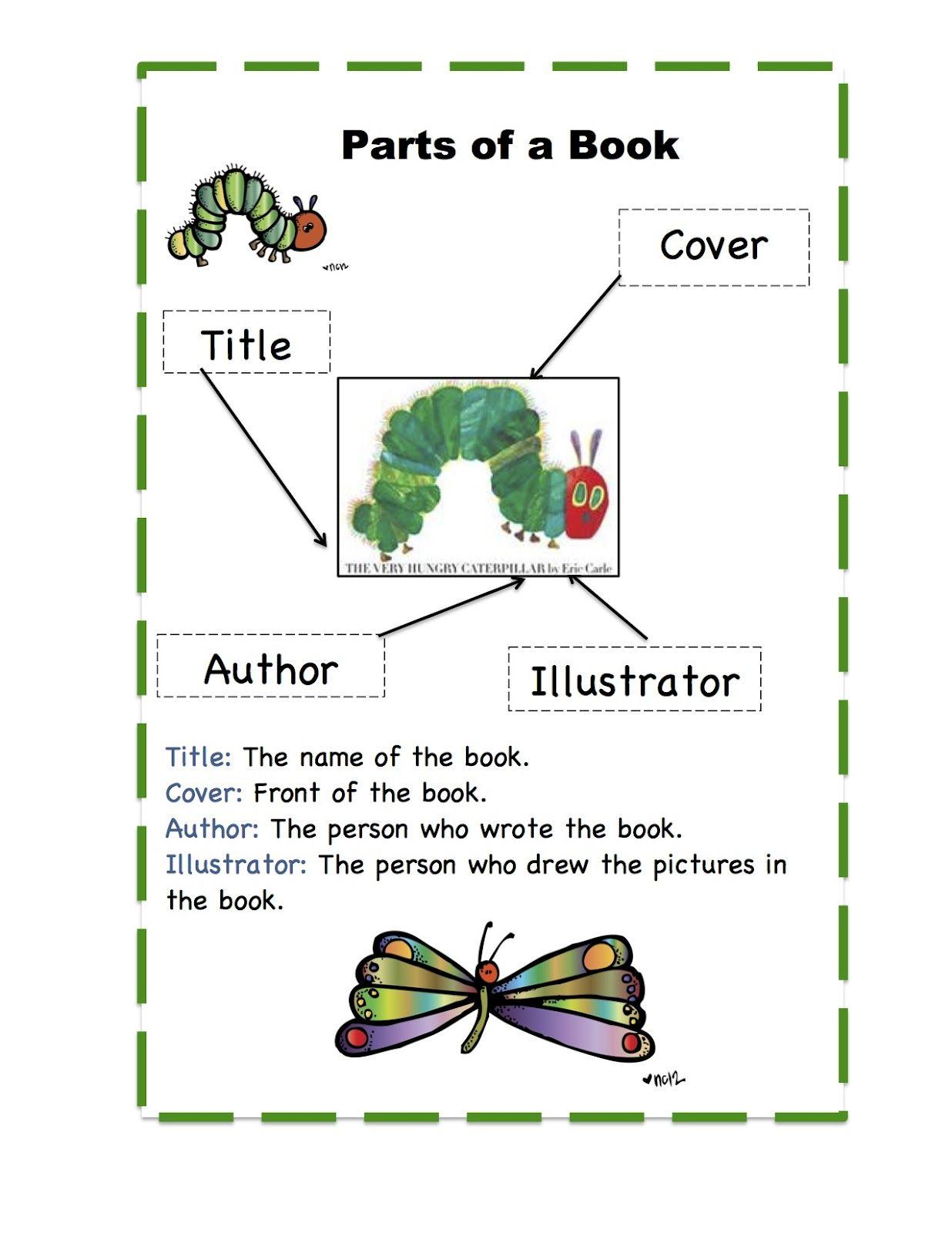 Hungry Caterpillar Book Printable