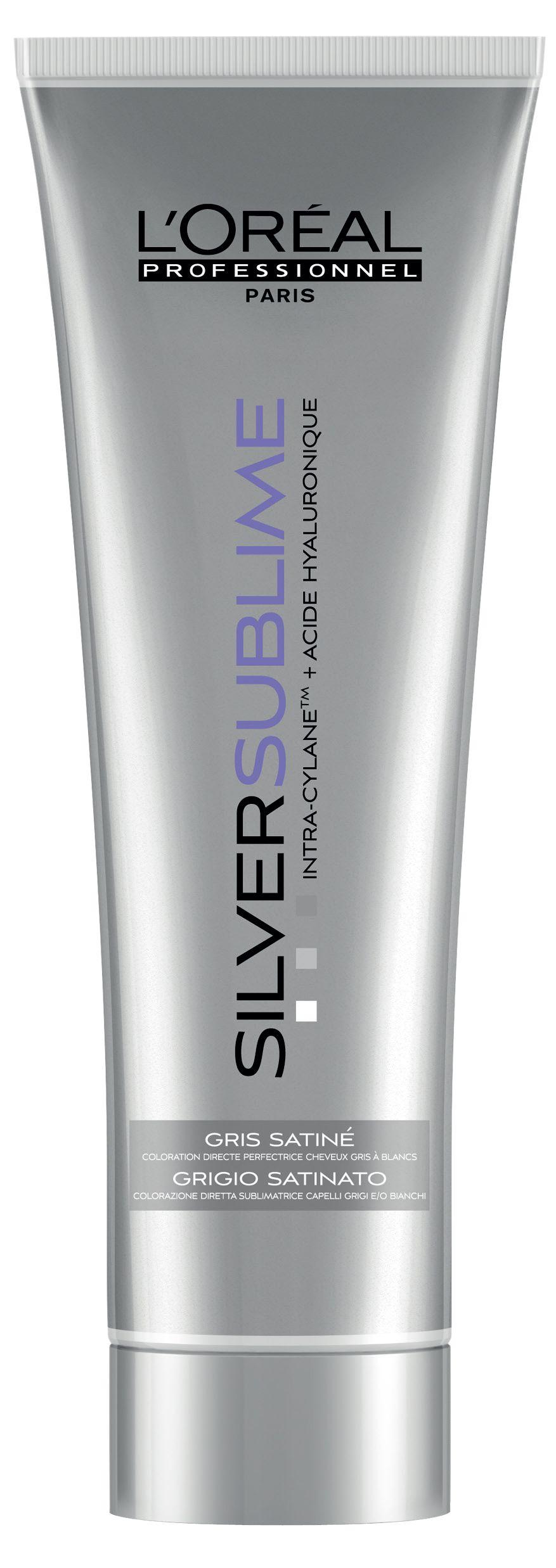 L'Oréal Professionnel Silver Sublime direct sublime hair