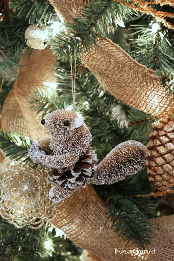 My Woodland Christmas Tree Reveal Squirrel, Christmas