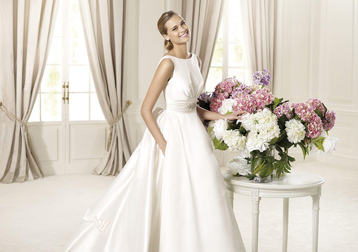 Pronovias Presents The Dalila Wedding Dress, Costura 2014