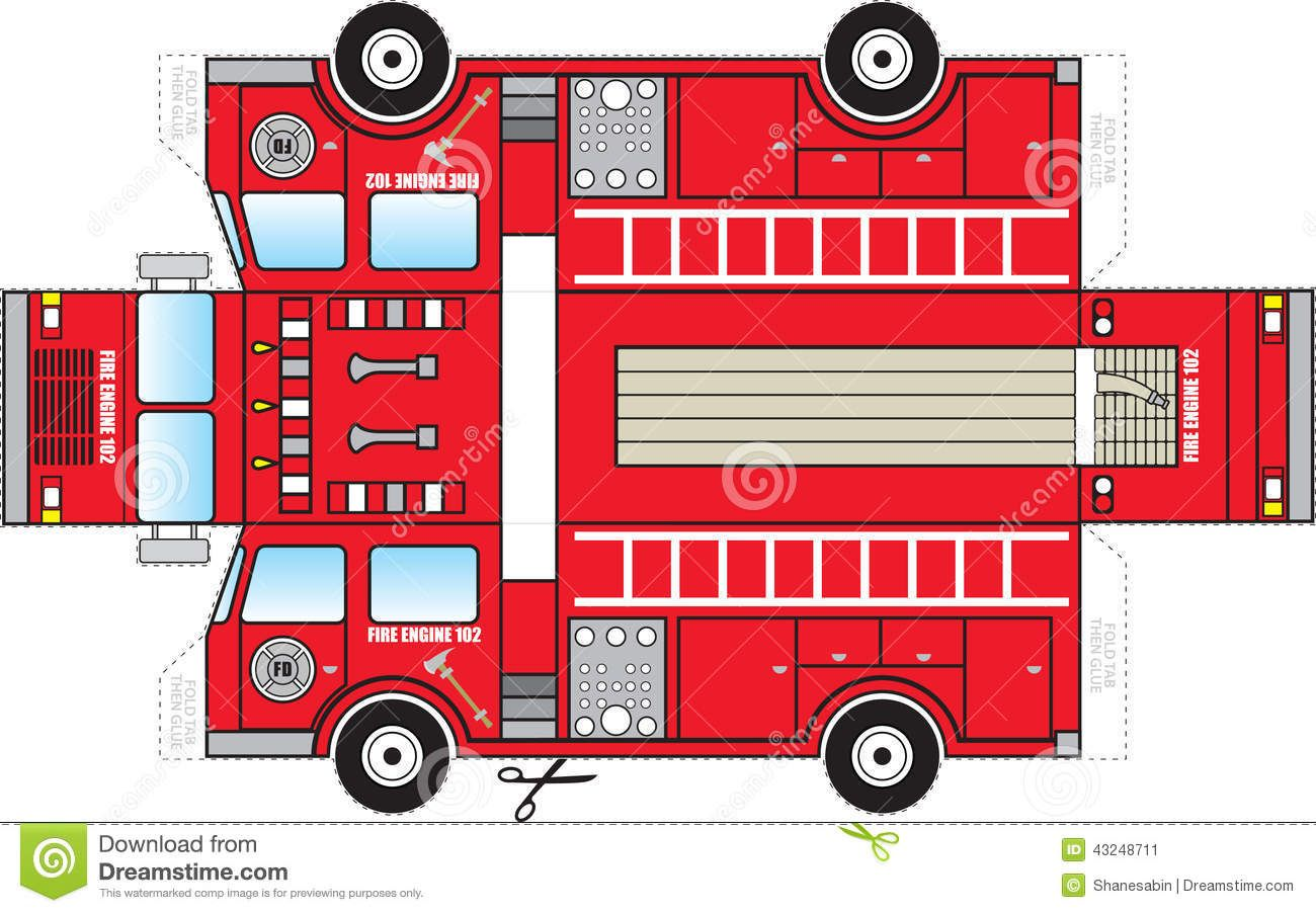 Fire Truck Cutout Download From Over 37 Million High