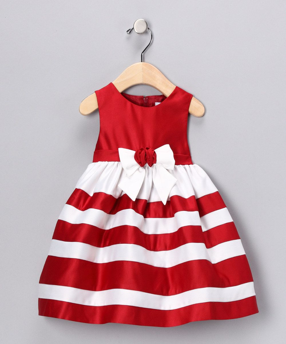Think of your triplet girls wearing these matching dresses