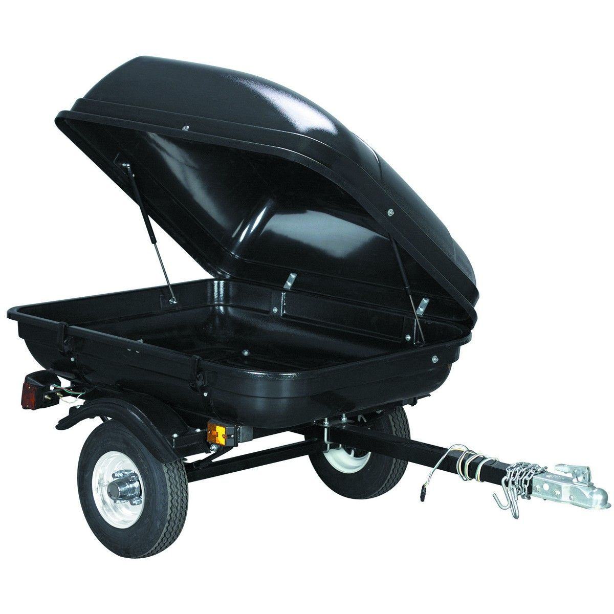 Harbor Freight Tag Along Trailer. 399.00 in a kit that