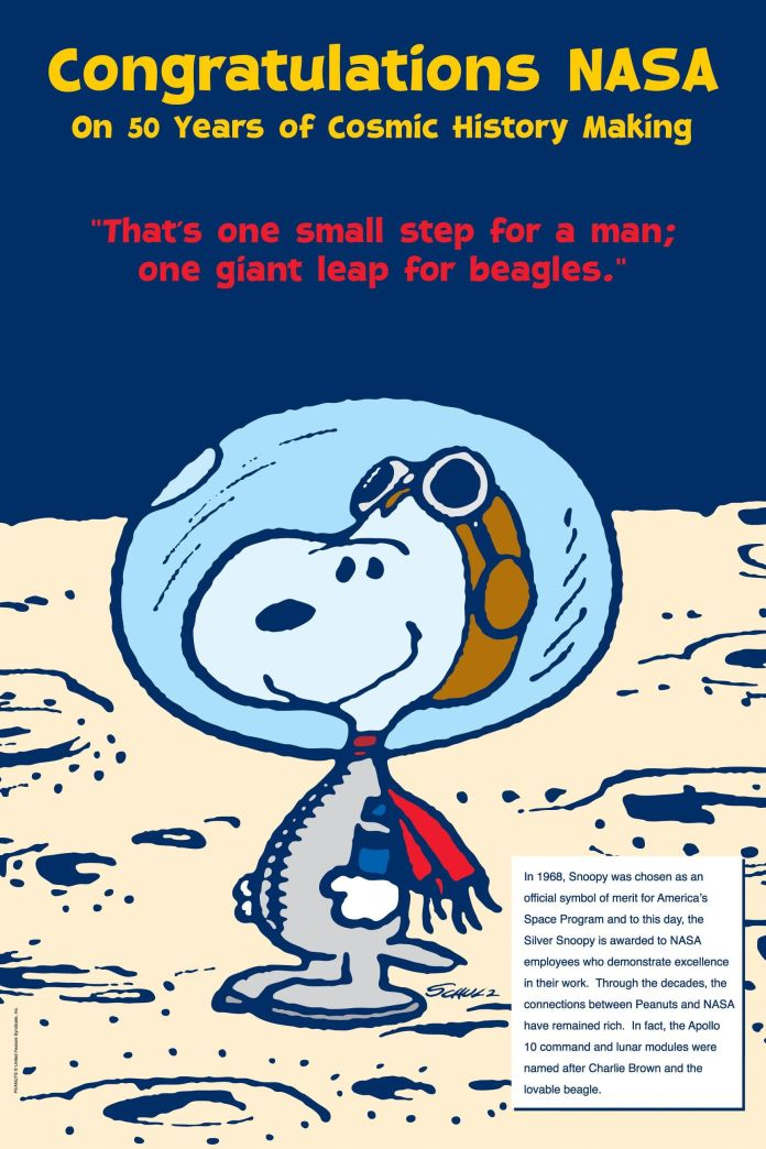 Image result for snoopy in space