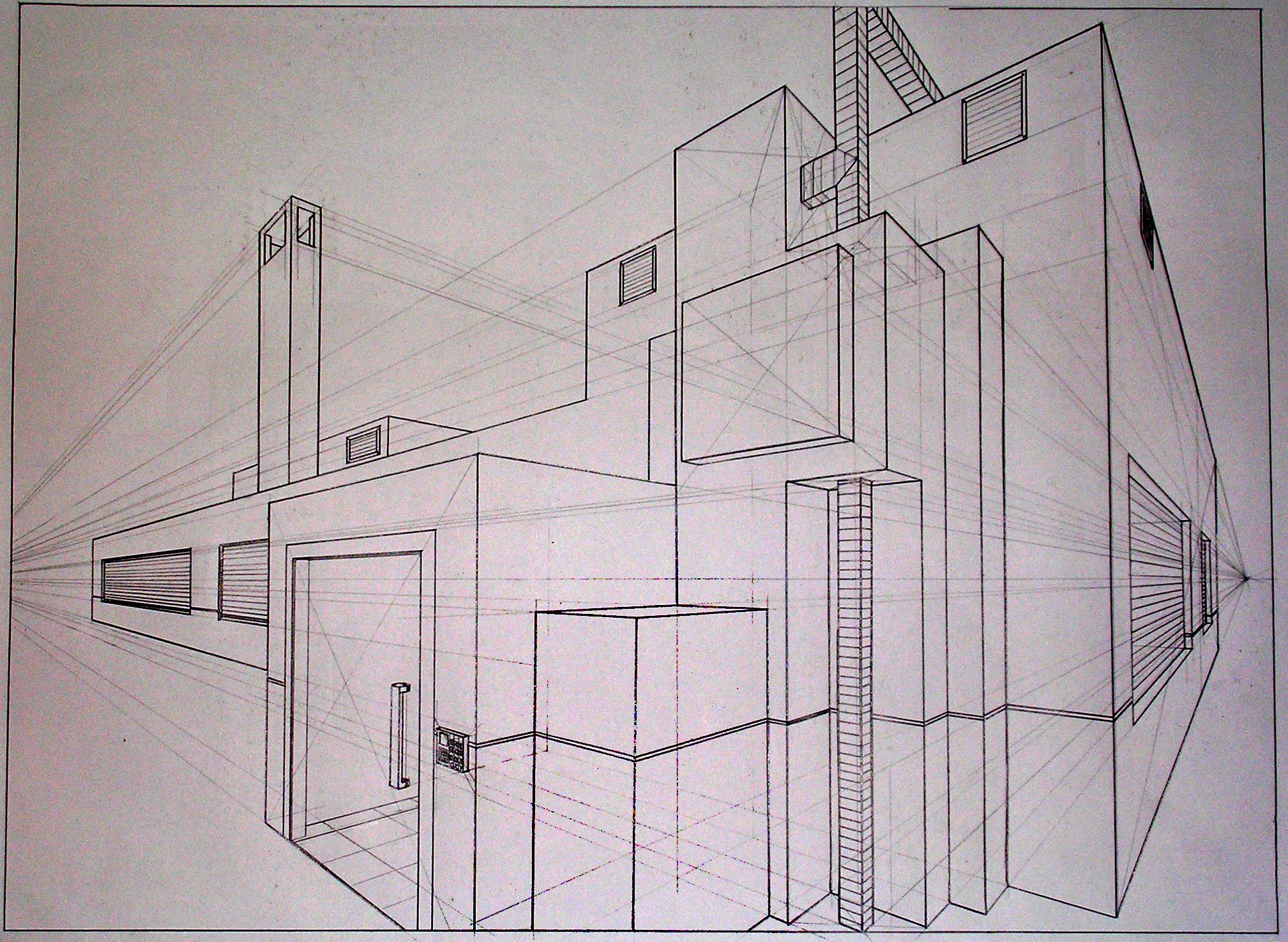 Two Point Perspective In Design