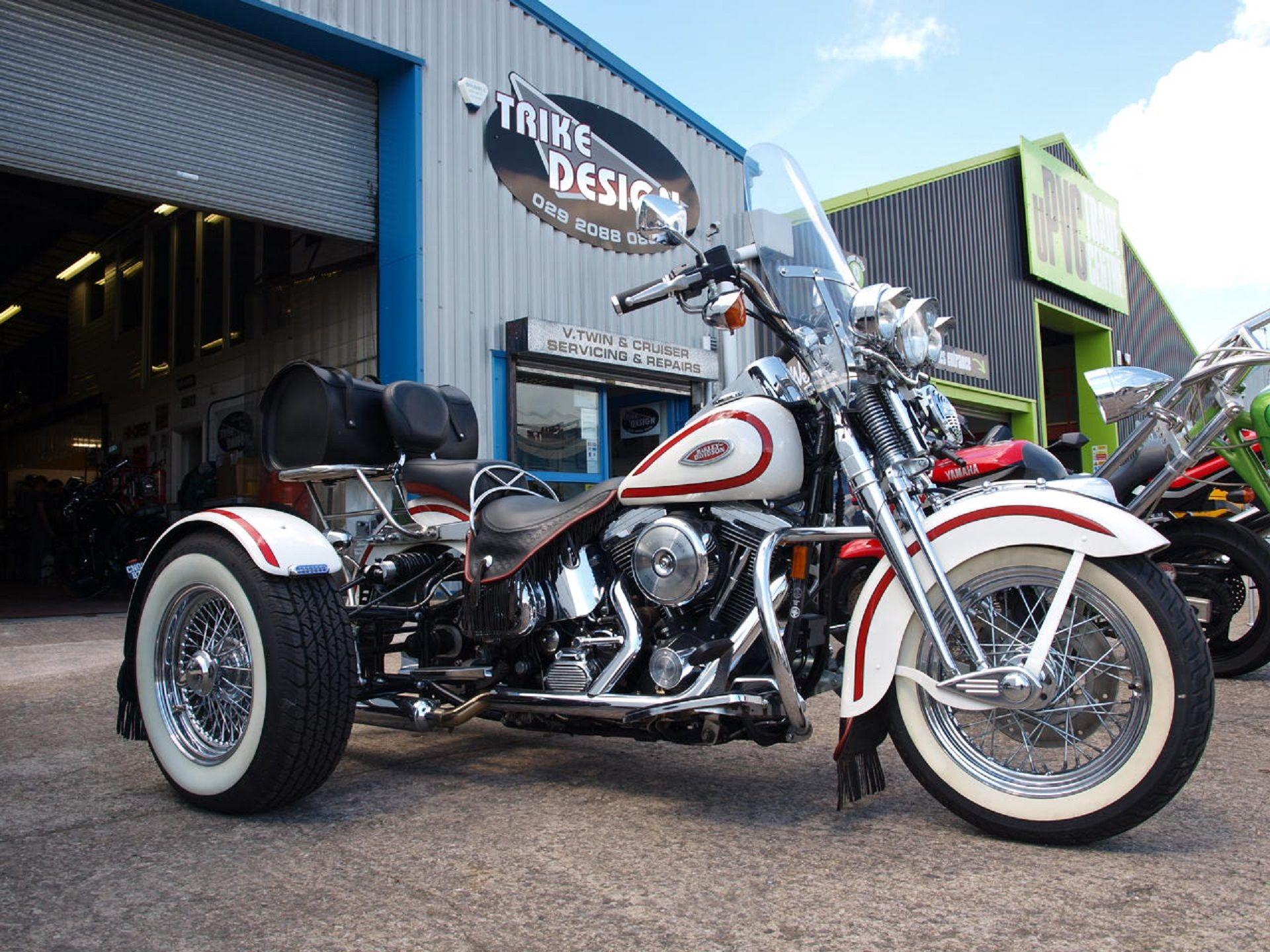 Harley Heritage Springer Trike. http//trikedesign.co.uk
