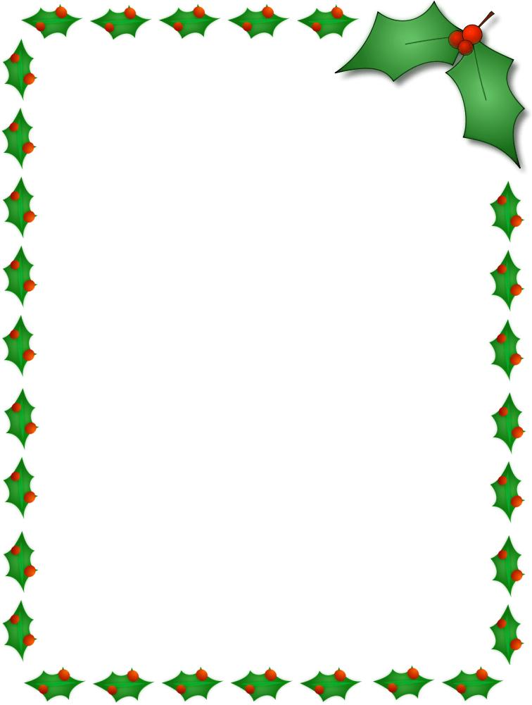 Christmas Holly Clip Art Border Quotes Lol Rofl Com