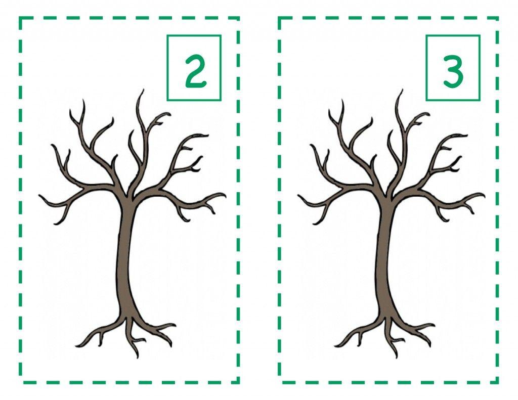 Fall Counting Preschool Lesson Plan
