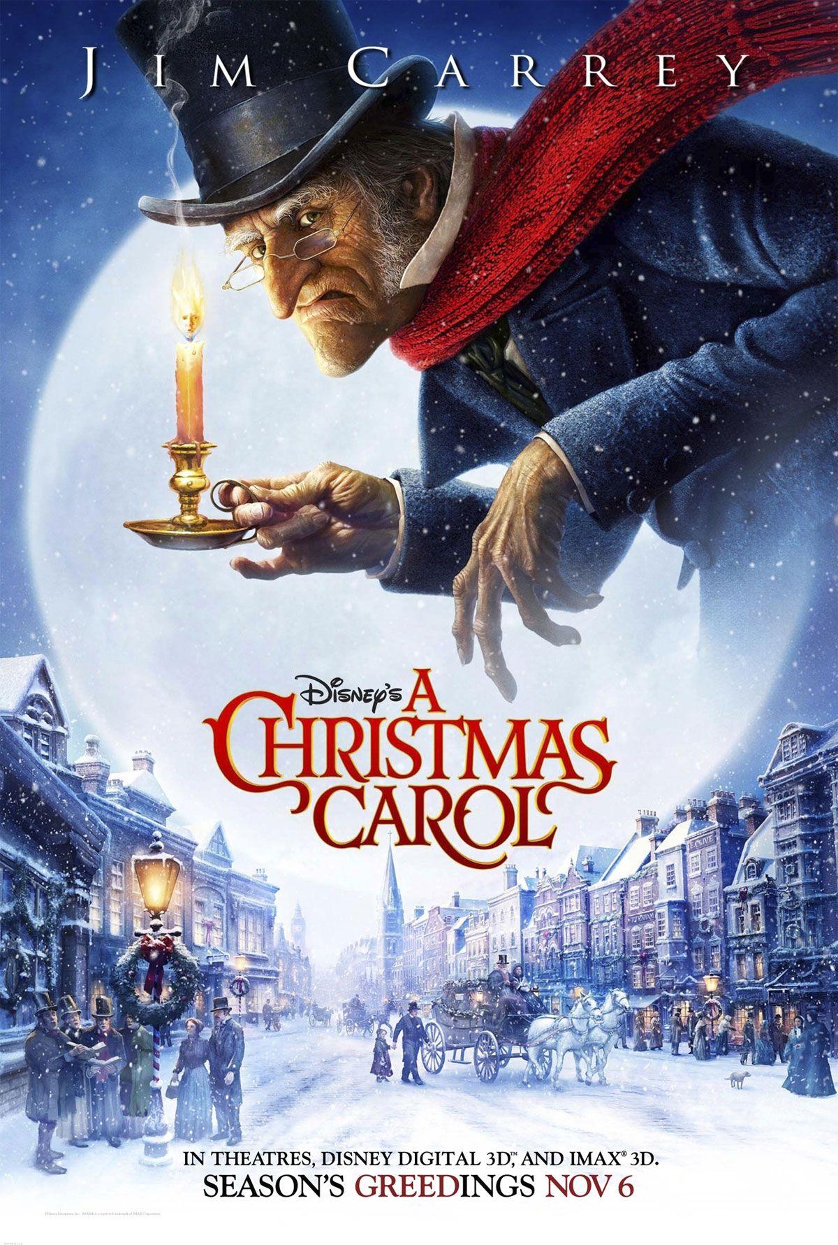 disney movie posters Disney's A Christmas Carol Movie
