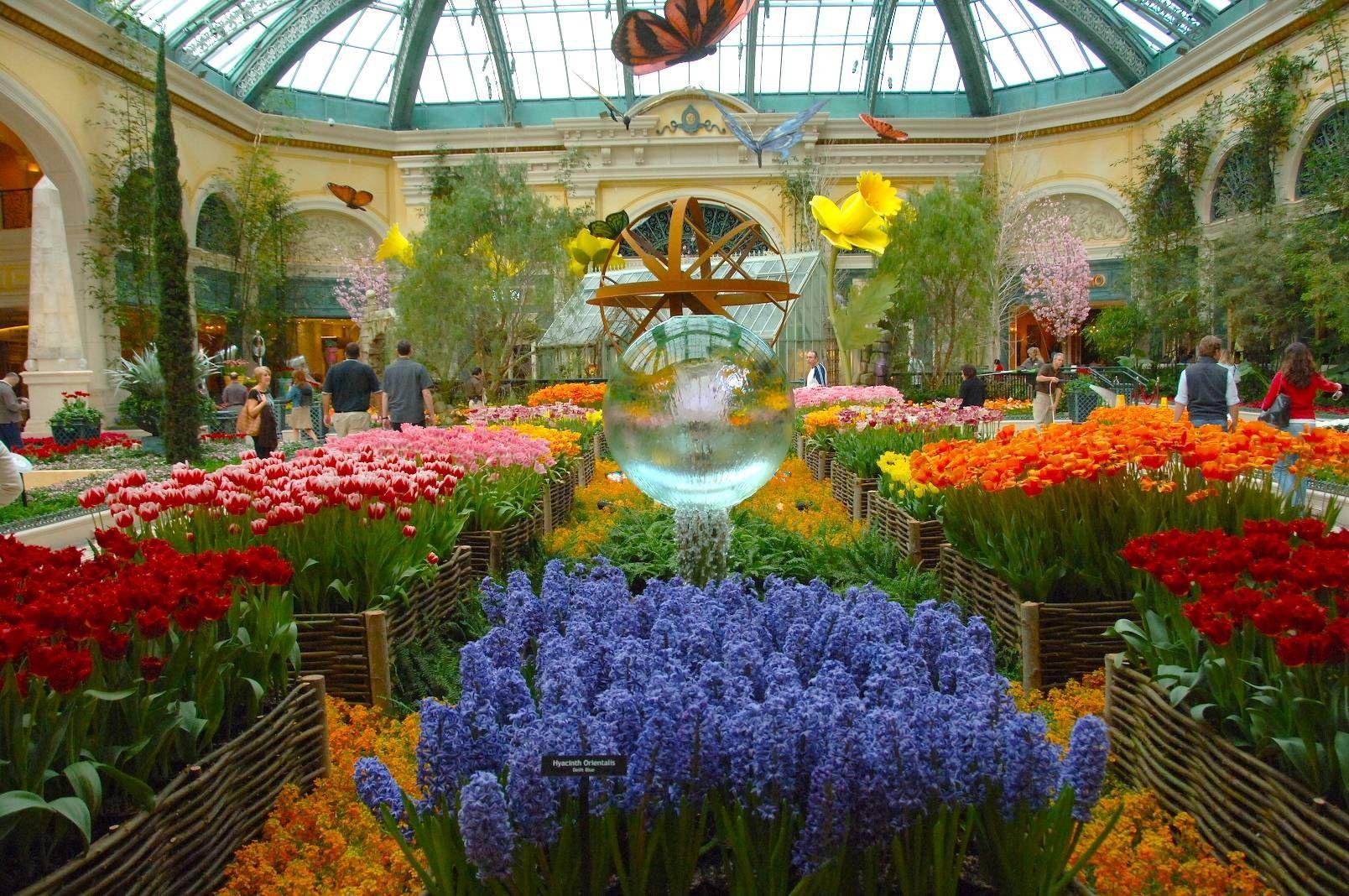 Spring at the Bellagio, Las Vegas Garden Zen Pinterest