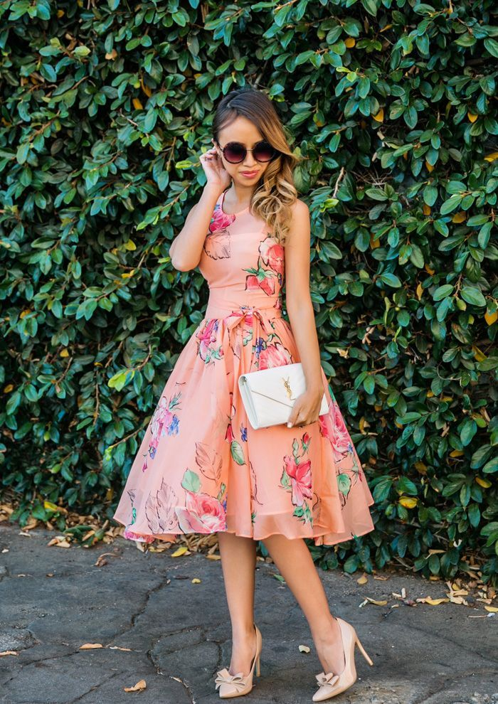 20 weddingready summer wedding guest styles Tulle dress