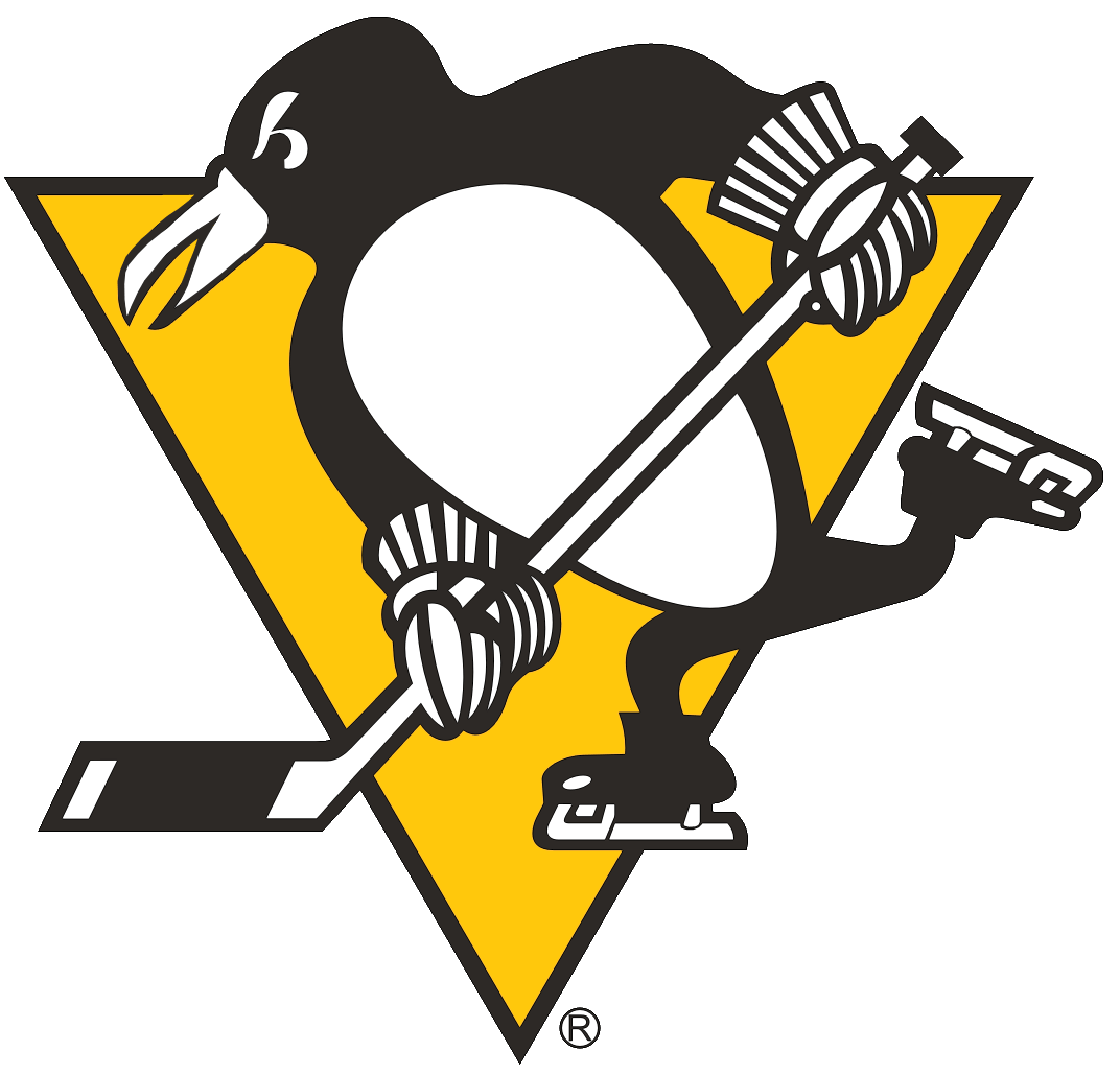 Pittsburgh Penguins Primary Logo (1973) A penguin