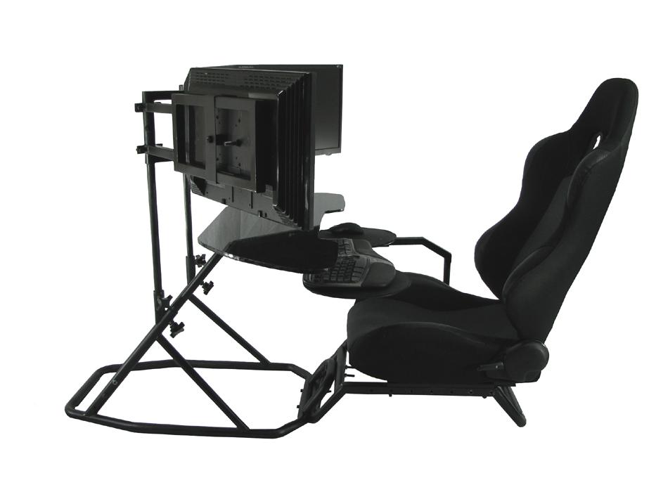 oZone gaming cockpit setup as an ergonomic workstation