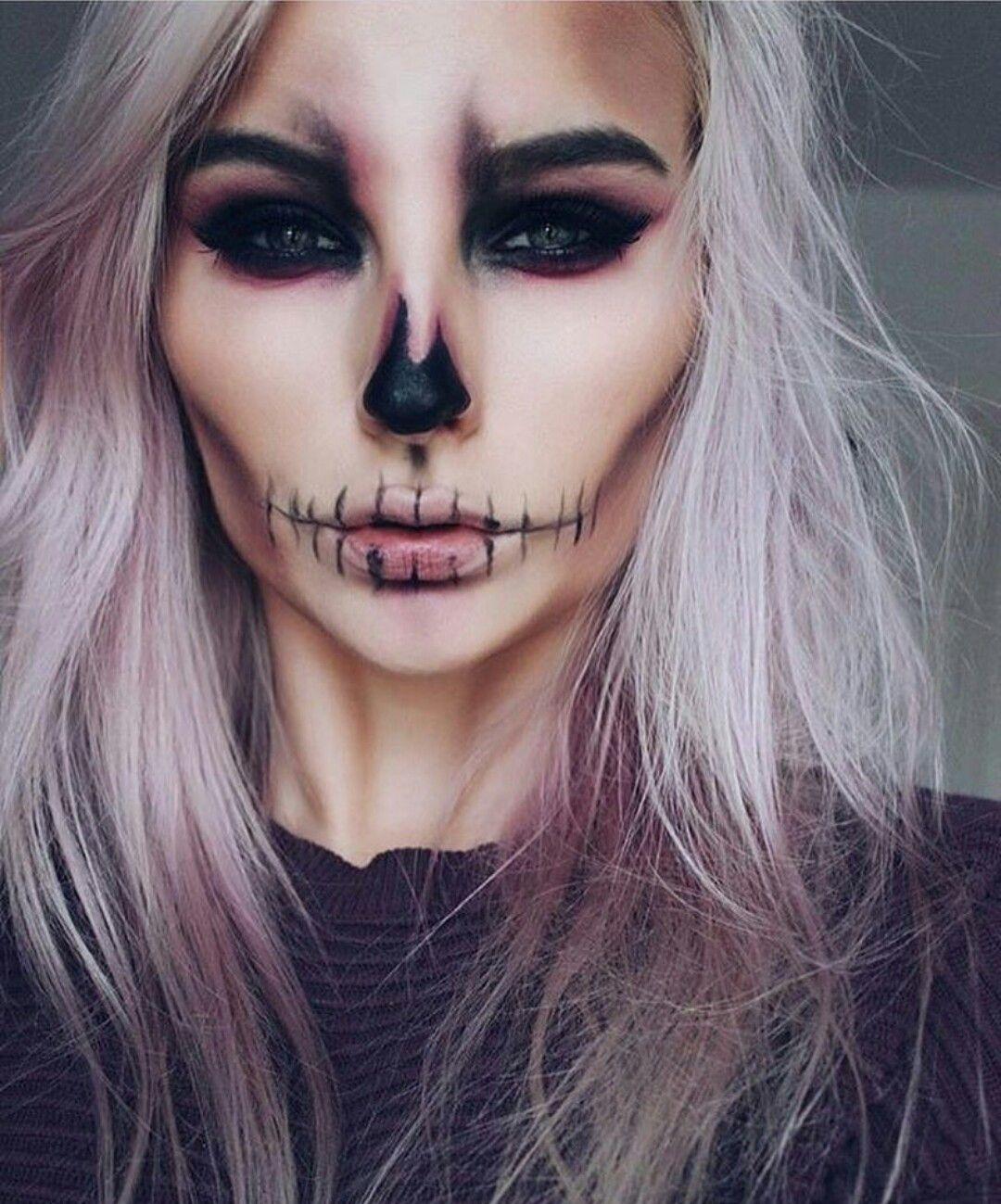 Skeleton makeup … Pinteres…