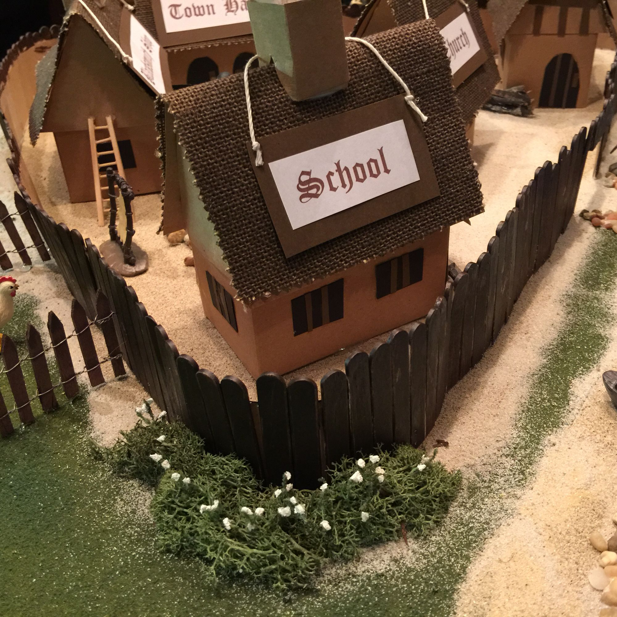 Jamestown Colony Project Close Up