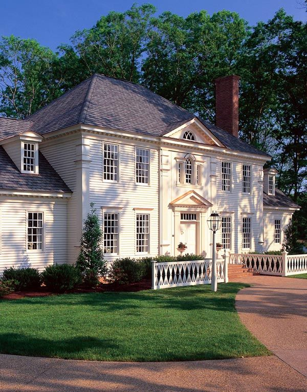 Colonial Plantation Southern House Plan 86186 Might like