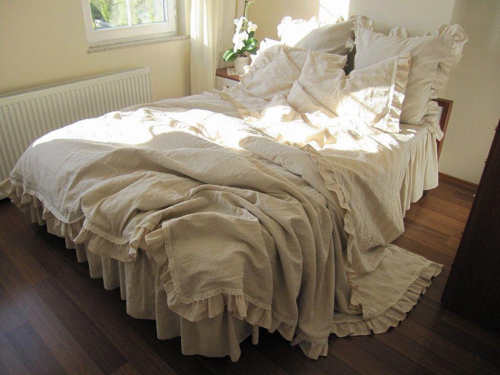 Custom King duvet cover 6 pcs Farmhouse country bedding