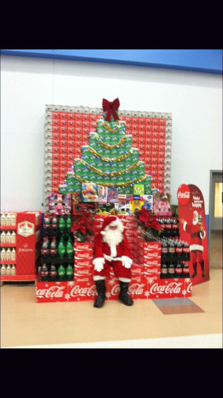 Coke Christmas Display Soda Pinterest Display And
