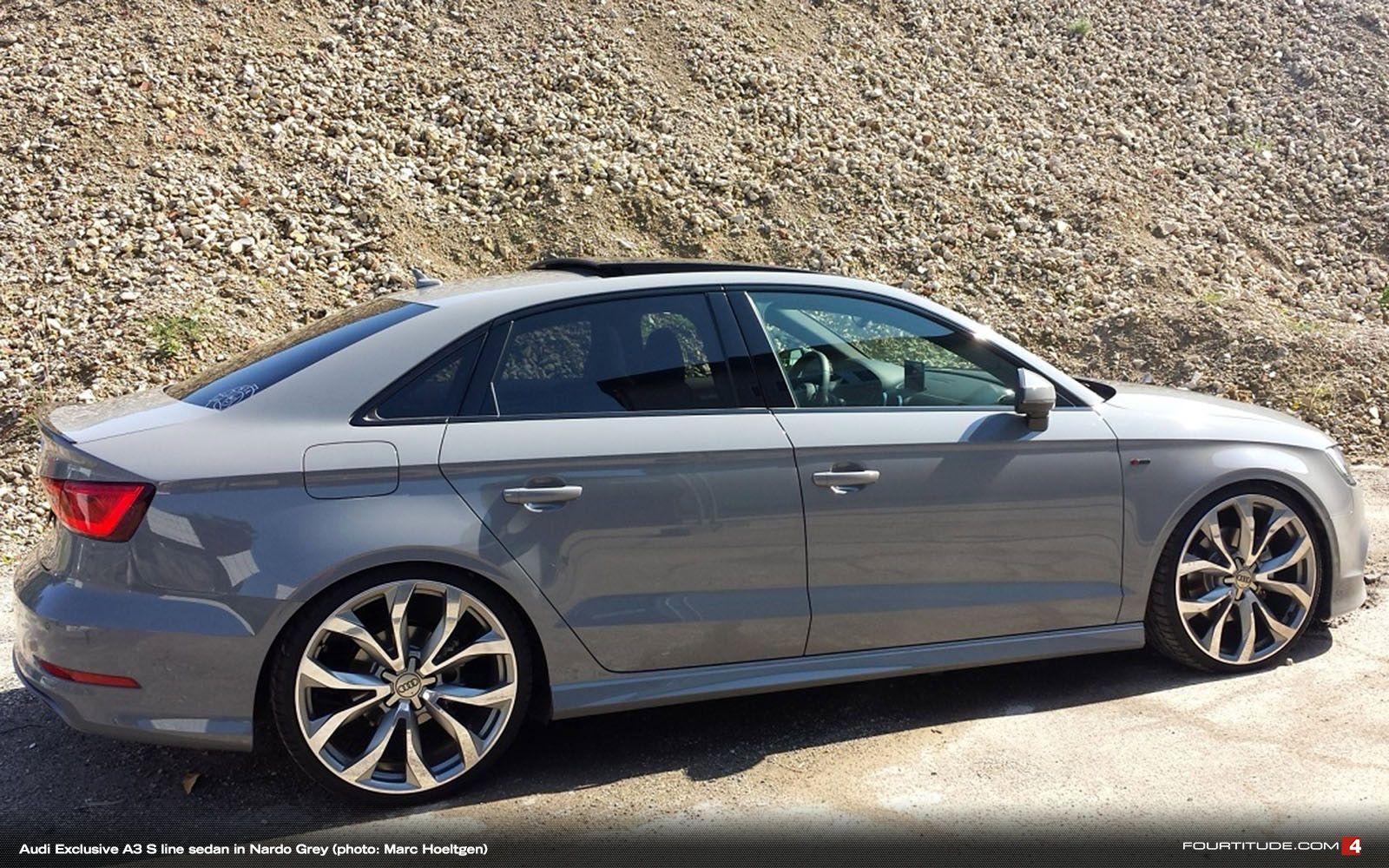 Nardo Grey Audi A3 Sedan Audi Pinterest Cars, Audi