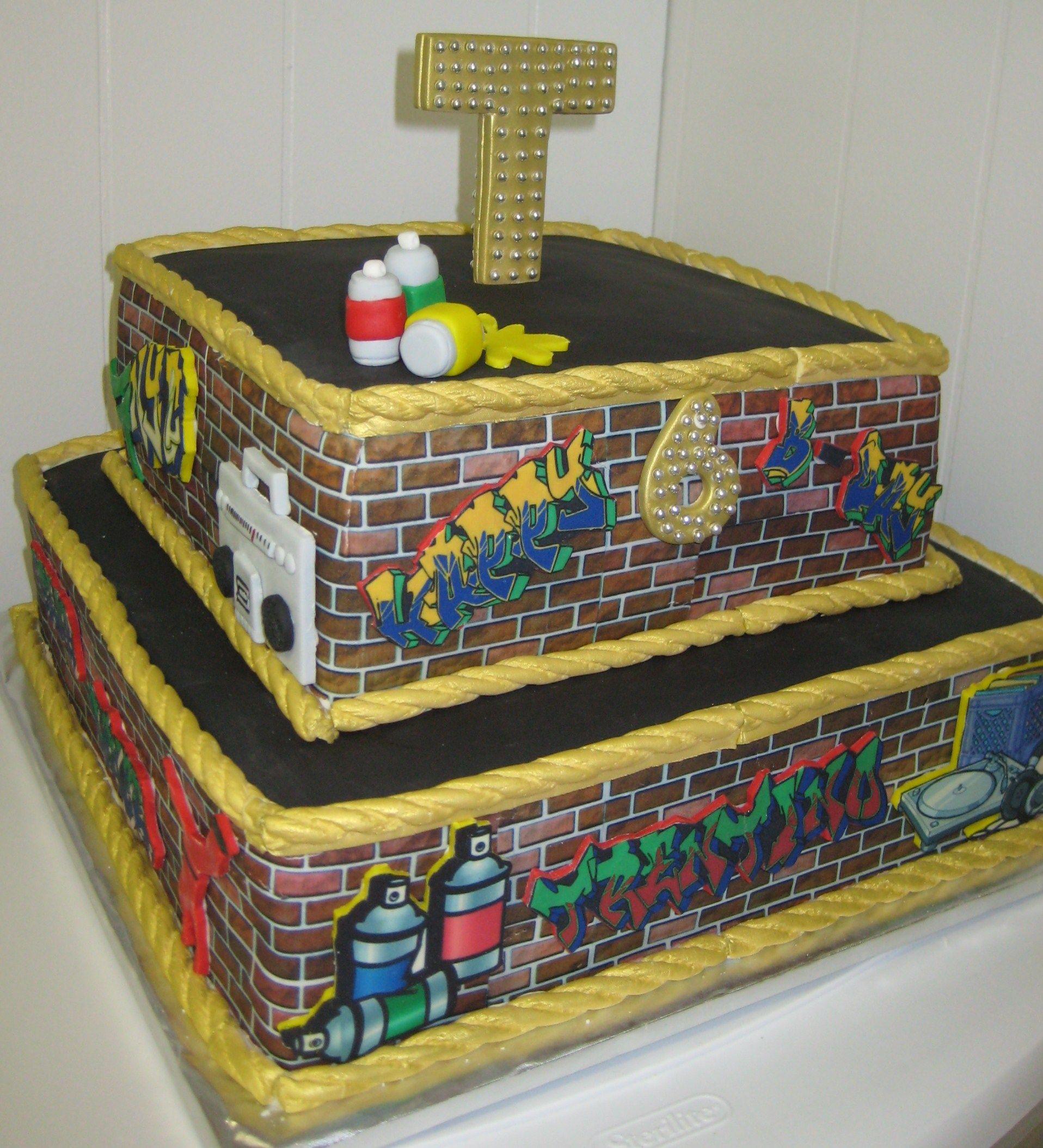 Hip Hop Cake stuff Pinterest Hip hop, Cake and Hip