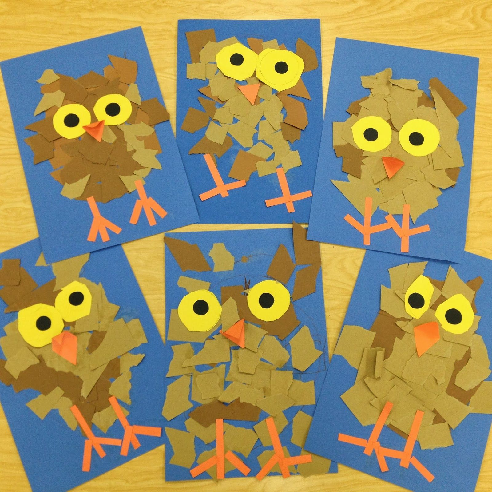 More Fun Kindergarten Owlets Ripping Paper