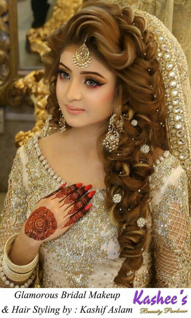 pakistani bridal hairstyle youtube - opening w