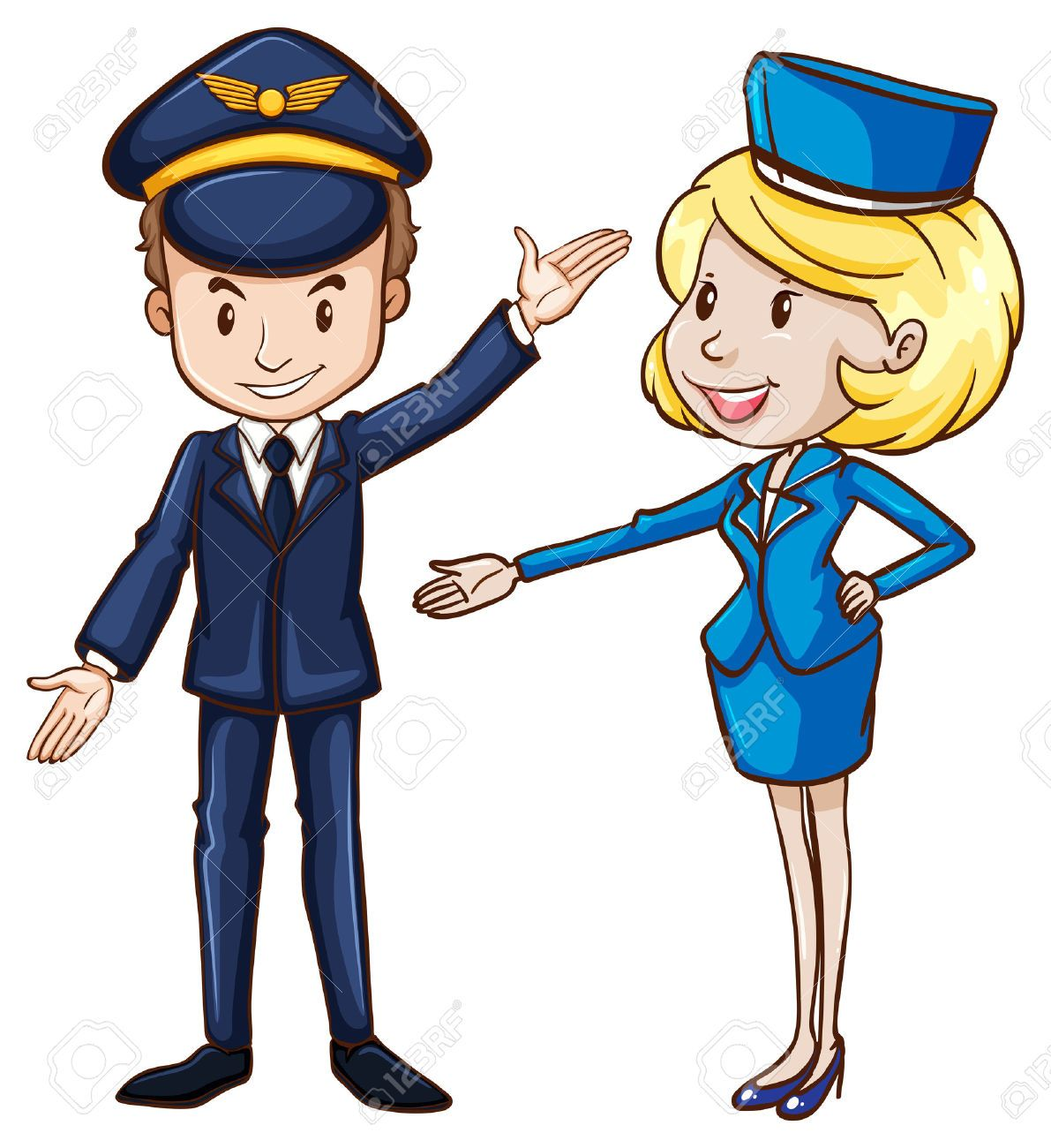 """""""flight attendant"""" cartoon Tìm với Google nghe nghiep"""