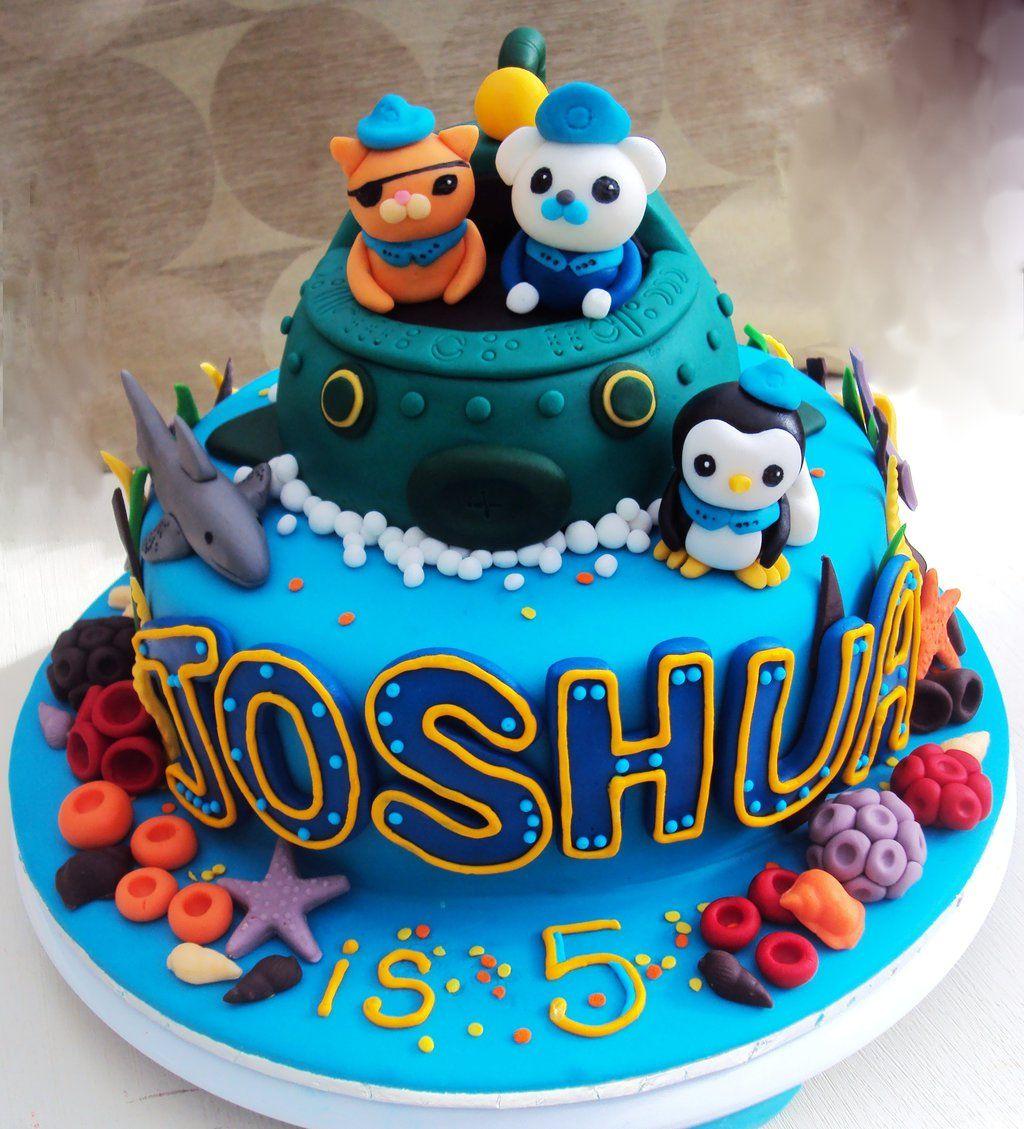 Octonauts Cake By Clvmooreviantart On Deviantart