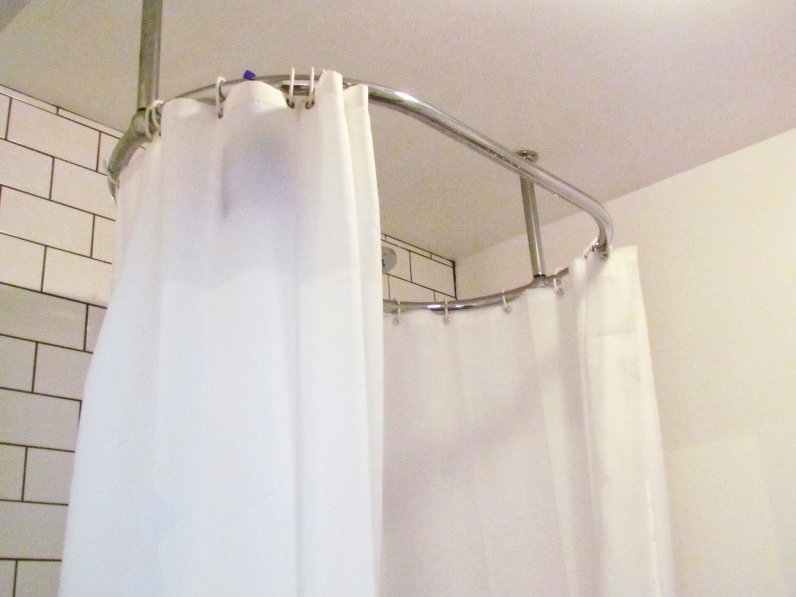 Hang Shower Curtain From Ceiling