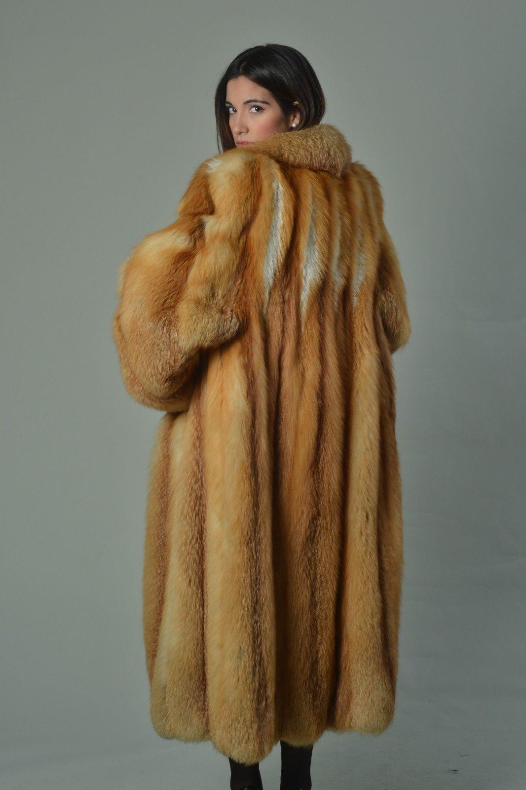 Red Fox Fur Coat Coats Pinterest Red Fox Fox Fur And Fur Coat