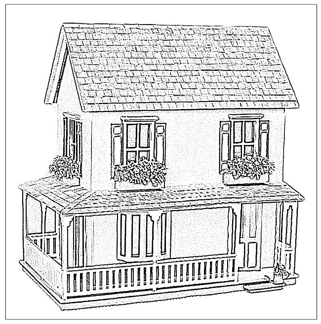 victorian houses coloring pages and victorian on pinterest