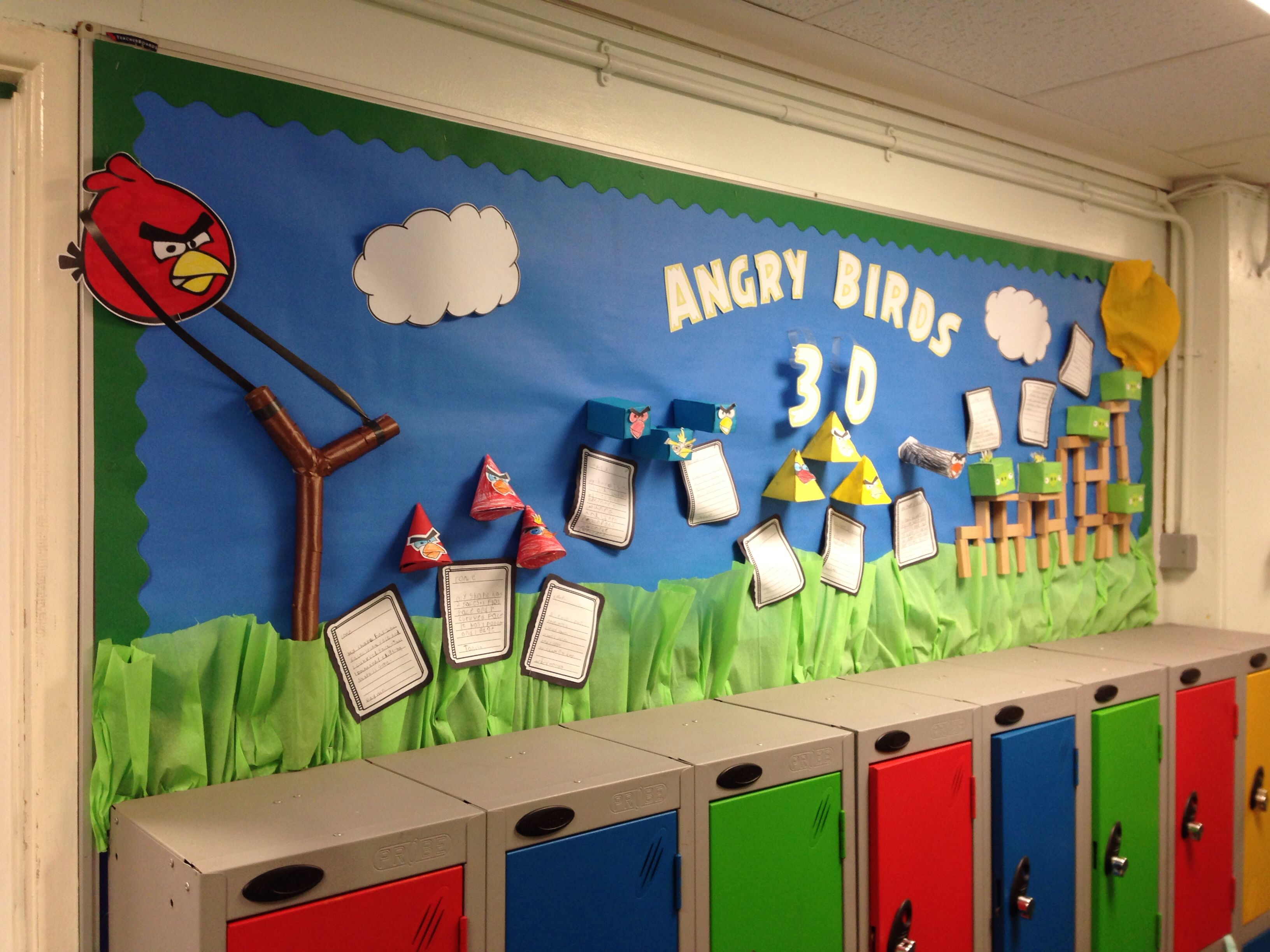 Angry Birds 3d Shapes Display Kids Absolutely Adore