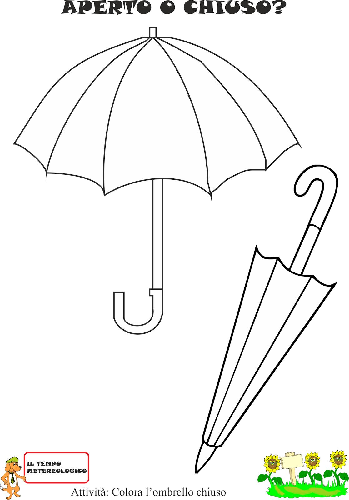 A Scuola Con Poldo Schede Sulla Pioggia