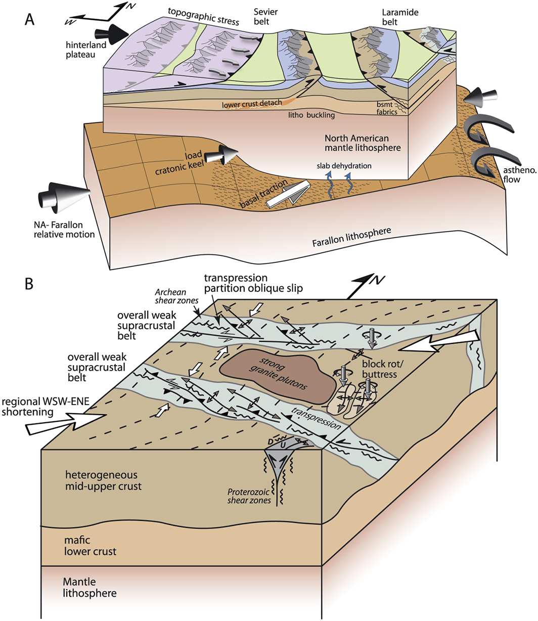 Tectonic Evolution Of A Laramide Transverse Structural