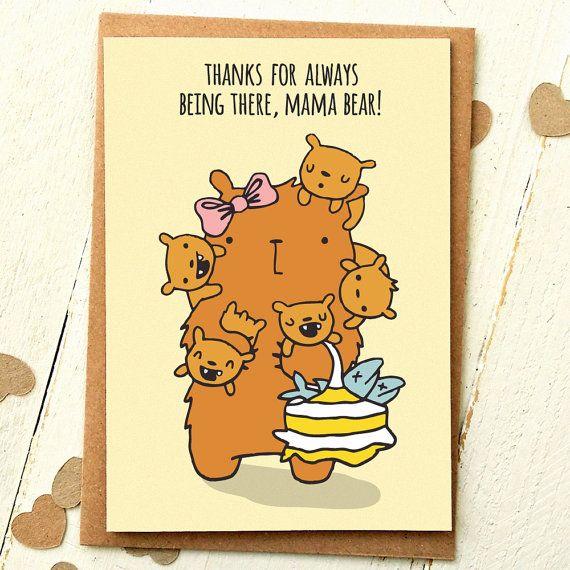 Mum Birthday Card Mum Card Mom Card Mom By