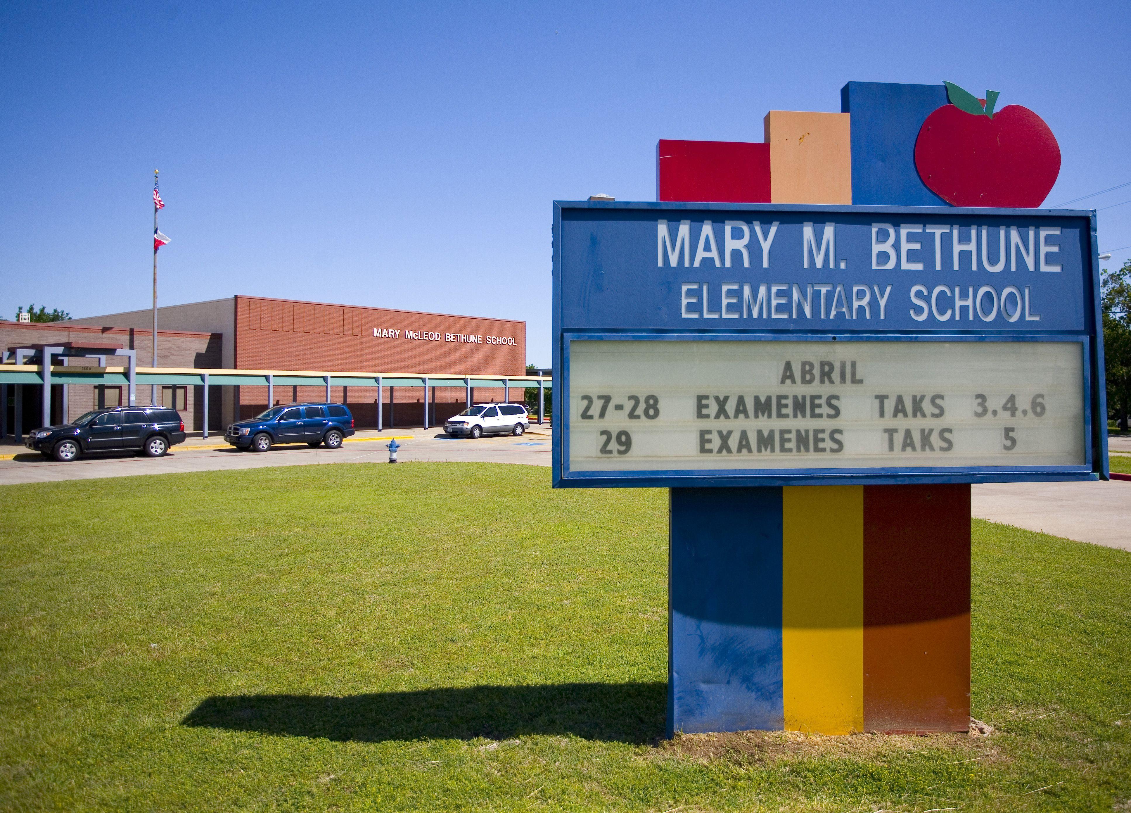 Mary McLeod Bethune Elementary School Elementary Schools