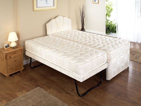 3ft Single Guest Bed Divan Visitors Pull Out