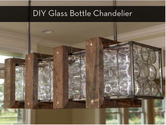 Make It I Dare You Diy Glass Bottle Chandelier